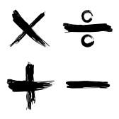 8076189-tick-cross-positive-negative-web-icon